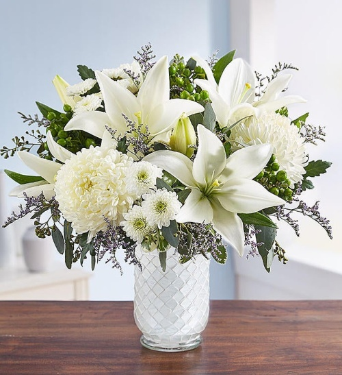 Pure Elegance Bouquet tm for Sympathy
