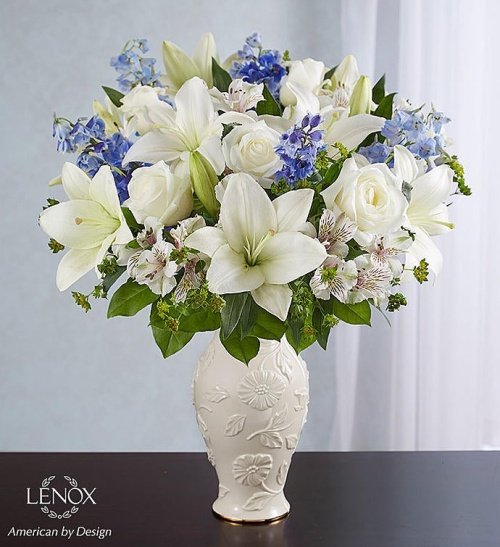 Loving Bloom tm Lenox? Blue & White