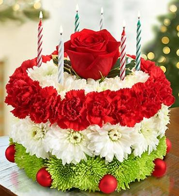Birthday Flower Cake® for The Holidays