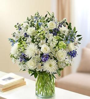 Ultimate Elegance - Blue and White