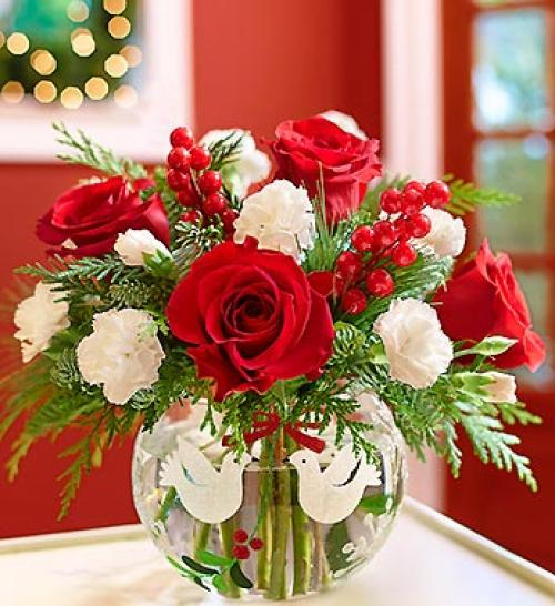 Peace on Earth Holiday Bouquet