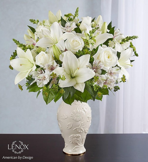 Loving Bloom tm Lenox All White