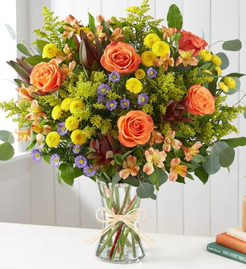 Autumn Breez Bouquet for Sympathy